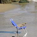 Mary Carol Williams - Blue Beach Chair