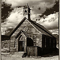 Jim and Emily Bush - Bodie Church Sepia