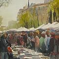 Ramon Soler - Books Market in Barcelona