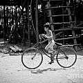 Stefan Olivier - Boy on Bicycle