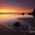 Mike  Dawson - Cannon Beach Sunset