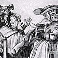 Caricature Of Three Alcoholics, 1773 by Science Source