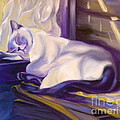Susan A Becker - Cat Nap in the Office