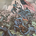 Charge Of The 54th Massachusetts by Photo Researchers