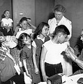 Children Inoculated Against Diphtheria by Everett