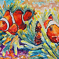 Barbara Pommerenke - Clownfish In Their...