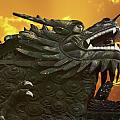 Christine Till - Dragon Wall - Yu Garden...