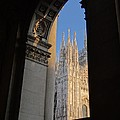 Keith Stokes - Duomo Through the Arch