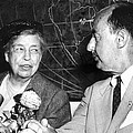 Eleanor Roosevelt Supported Adlai by Everett