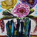 Mary Carol Williams - Exotic Bouquet in Bold...