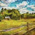 Mike Savad - Farm - Fence - It