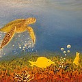 Scott Phillips - Fast Swimming Sea Turtle...