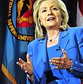 Hillary Clinton, Us Secretary Of State by Everett