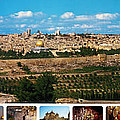 Munir Alawi - Jerusalem Panorama