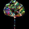 Ann Powell - Jewel Tone Leaf