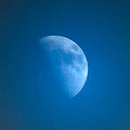Lorainek Photographs - Just the Moon