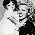 Lana Turner Right, And Daughter Cheryl by Everett