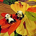 Sarah Loft - Little Glass Pandas 50