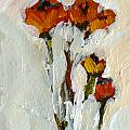 Juliet Mevi - Long Stemmed Poppies