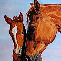 Jana Goode - Mare and foal