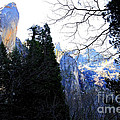 Mountains of Yosemite . 7D6213 Print by Wingsdomain Art and Photography