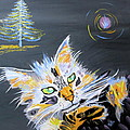 Phyllis Kaltenbach - My Calico Cat Wizard