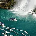 Meeli Sonn - Niagara with two ships