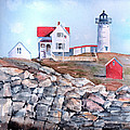 Arline Wagner - Nubble Lighthouse - Maine