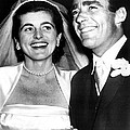 Patricia Kennedy Lawford And Husband by Everett