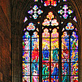 Christine Till - Pentecost window - St....