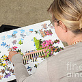 Puzzle Therapy by Photo Researchers, Inc.