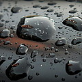 Lorainek Photographs - Raindrops