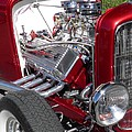 Sven Migot - Red Roadster Hot Rod...