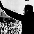 Richard Nixon Campaigning For Governor by Everett