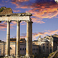 John  Bartosik - Roman Forum on Fire