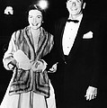 Ronald And Nancy Reagan Attended by Everett