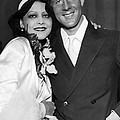 Rudy Vallee Right, And His Wife, Fay by Everett