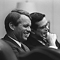 Sen. Robert Kennedy And Ted Sorenson by Everett
