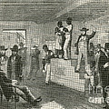 Slave Auction, 1861 by Photo Researchers