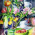 Trudi Doyle - Still Life with Tulips...