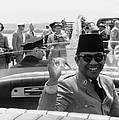 Sukarno, President Of Indonesia by Everett