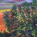 James Bryron Love - Sunset Calgary in the...