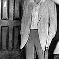Ted Williams Outside A Miami Court Room by Everett