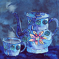 Arline Wagner - The Blue Teapot