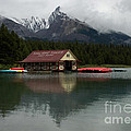 Vivian Christopher - The Boathouse on Maligne...