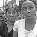 David Wenman - Three girls in Calcutta