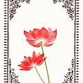 Jannina Ortiz - Vintage Red Flower 1...