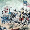 War Of 1812 Battle Of New Orleans 1815 by Photo Researchers