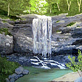 Susan Plenzick - Waterfall 8