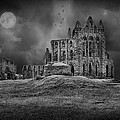 Ian Barber - WHitby Abbey Full Moon